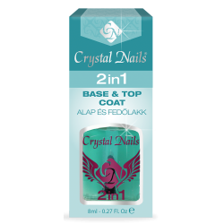 2 IN 1 BASE&TOP COAT 8 ML