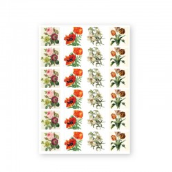 BAROQUE STICKERS - FLOWER
