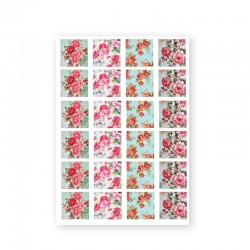 BAROQUE STICKERS - ROSE
