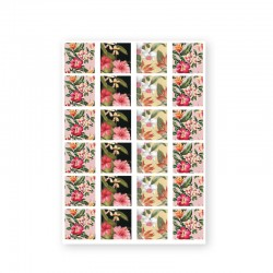 BAROQUE STICKERS - TROPICAL